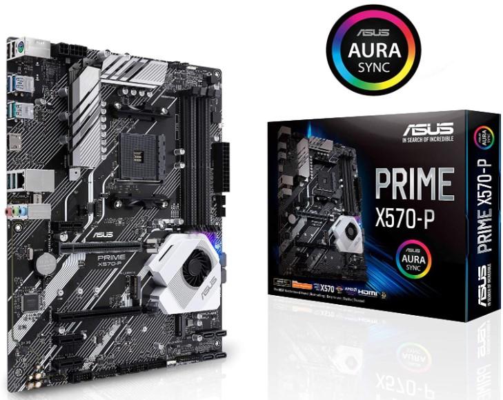 ASUS Prime X570-P Ryzen 3 AM4 with PCIe Gen4