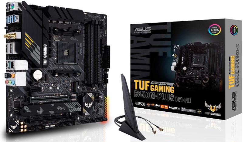 ASUS TUF Gaming B550M-PLU