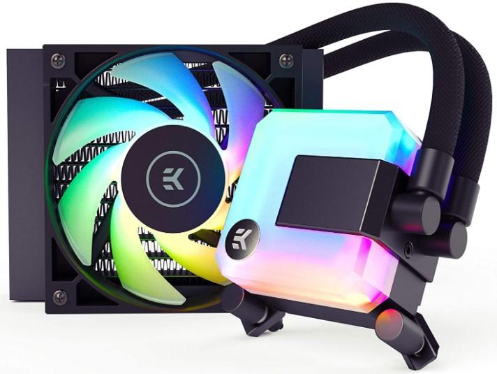 EK 120mm AIO D-RGB CPU Liquid Cooler