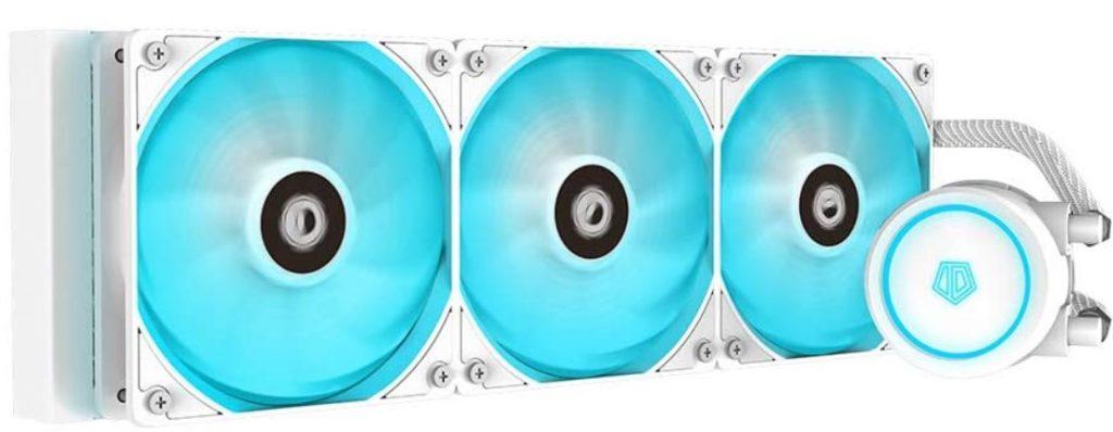 ID-COOLING AURAFLOW X 360 Snow CPU Water Cooler