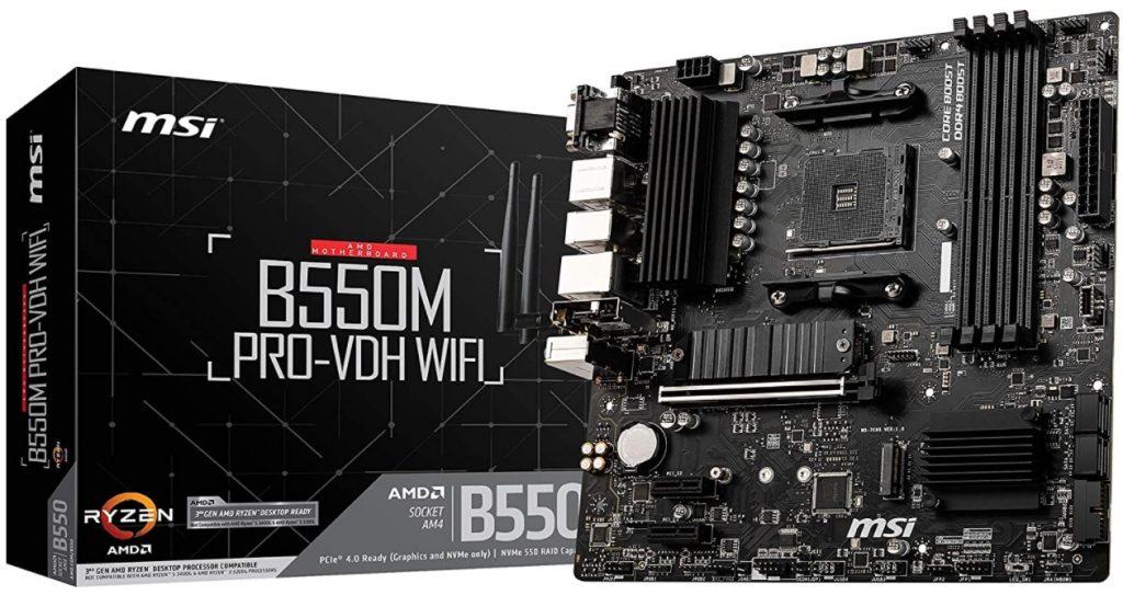 MSI B550M PRO-VDH WiFi ProSeries Motherboard