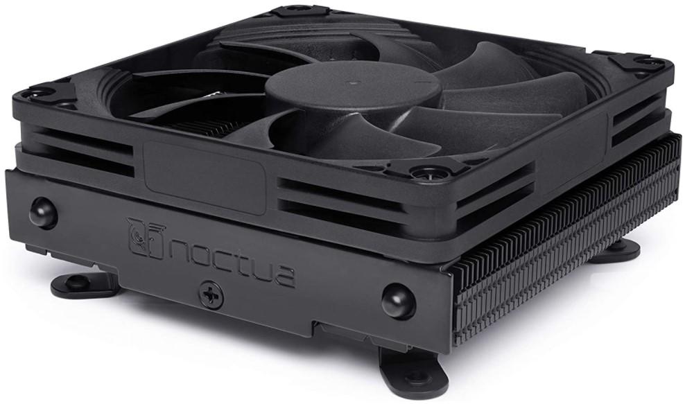 Noctua NH-L9i chromax.Black, Low-Profile CPU Cooler for Intel LGA115x (Black)