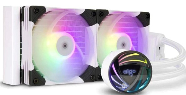 aigo AT240 240mm White CPU Liquid Cooler