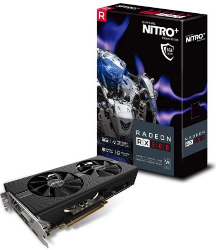 Sapphire 11265-01-20G Radeon NITRO+ Rx 580