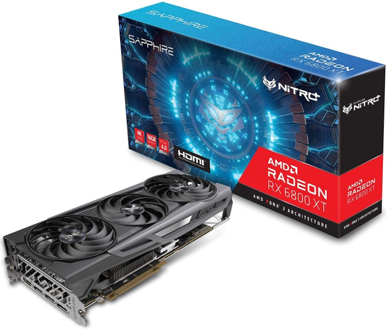 Sapphire 11304-02-20G Nitro+ AMD Radeon RX 6800